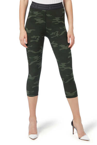 Icon Jersey Capri Pants
