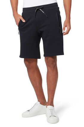 Logo Cotton Bermuda Shorts