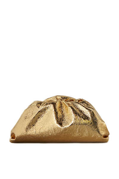 Pouch Metallic Nappa Clutch