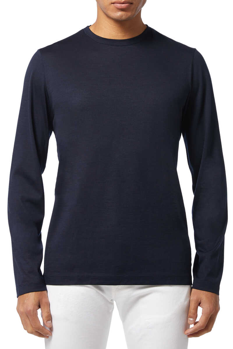 Finch Wool Crewneck Sweater image number 1