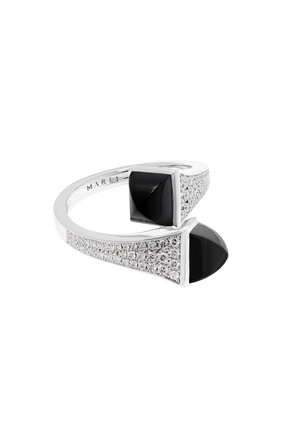 Cleo Onyx Diamond Ring