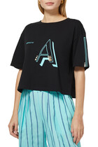 AX Logo Crop T-shirt