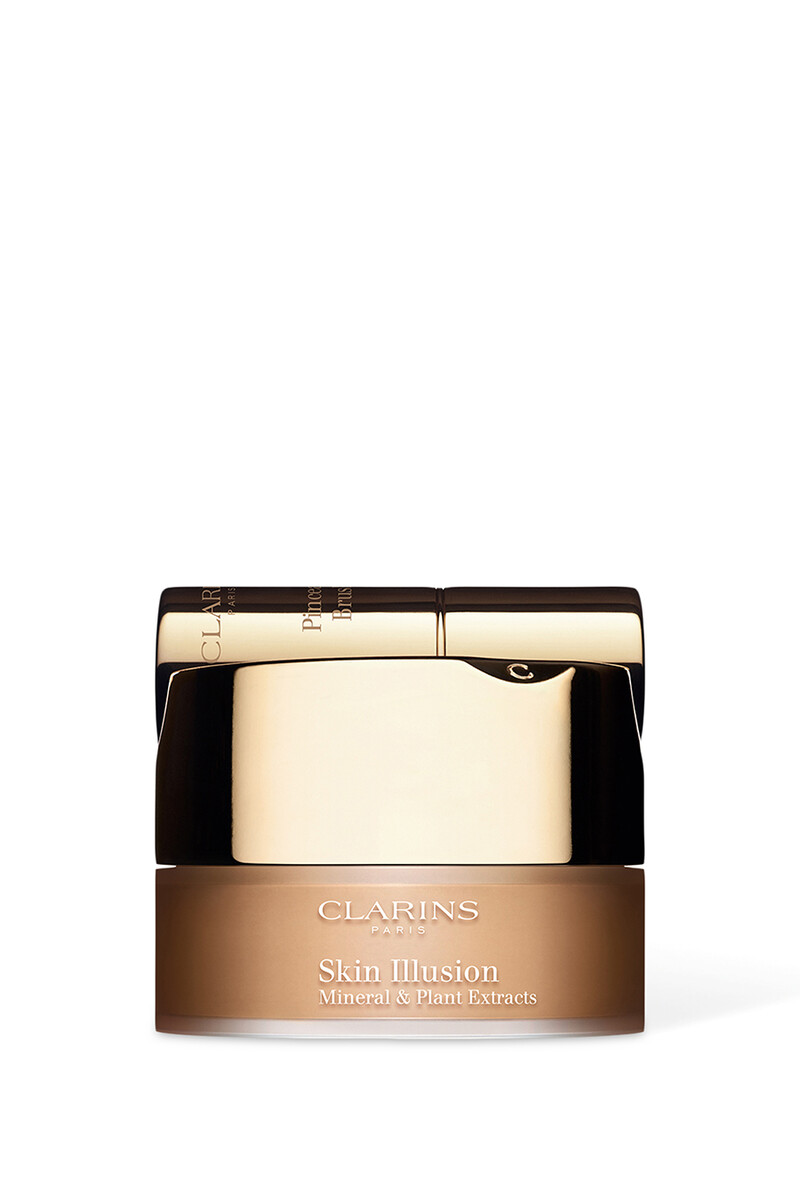 Skin Illusion Mineral and Plant Extracts Loose Powder Foundation image number 1