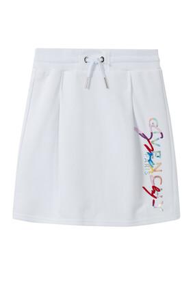 Floral Logo Skirt