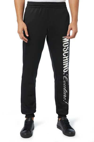 Foil Logo Fleece Track Pants