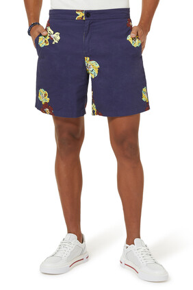 Yanis Cotton Shorts