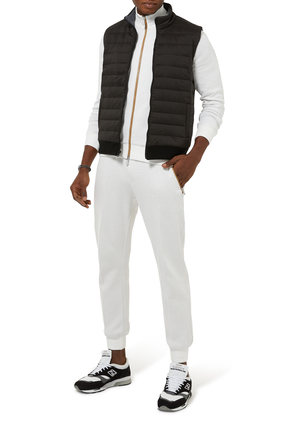 Quilted Merino Gillet
