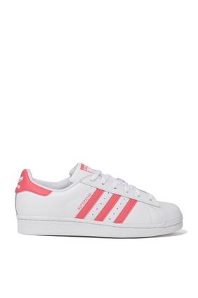 Pink Stripe Superstar Sneakers