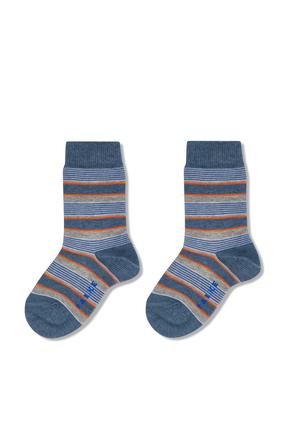 Mixed Stripe Socks