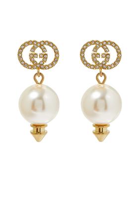 Pearl G Earrings