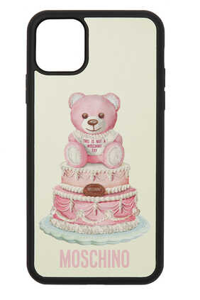 Cake Teddy Bear iPhone 11 Pro Max Cover