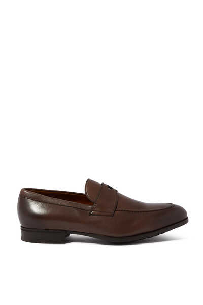 Penny Leather Loafers