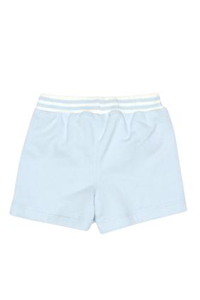 Logo Contrast Shorts