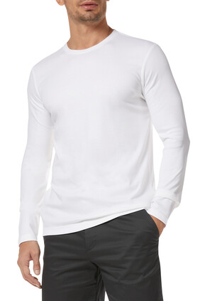 Luxury-Touch Crewneck T-Shirt