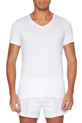 Cotton Superior V-Neck Top