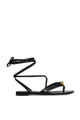 Roman Stud Flat Sandals