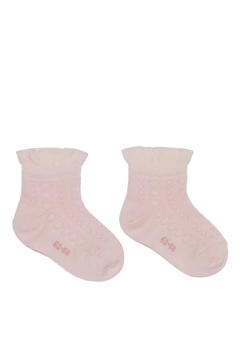 Romantic Net Baby Short Socks image number 1