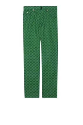 GG Canvas Pants
