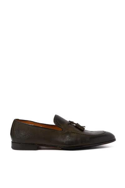 Leather Tassle Loafers