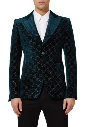 GG Velvet Jacket