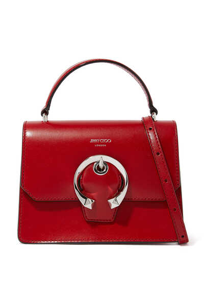 Madeline Calf Leather Satchel/S