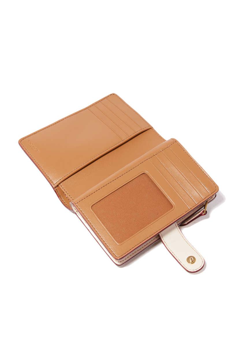 Signature Canvas Medium Corner Zip Wallet image number 3