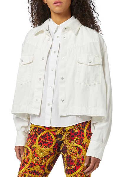 Denim Double Layer Jacket