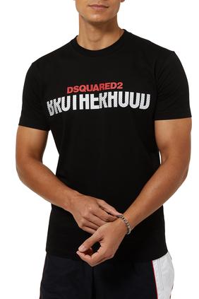 Brotherhood Logo Cotton T-Shirt