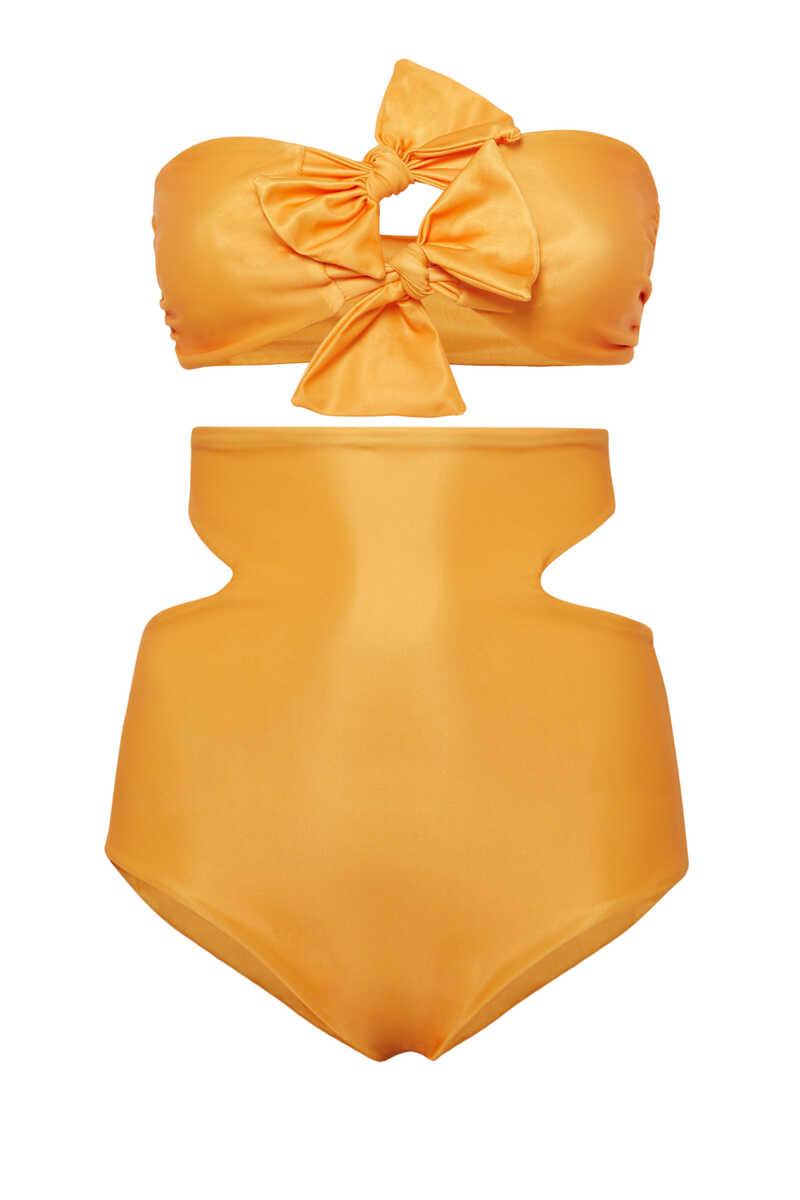 Ibiza High Waist Bikini Bottoms image number 2