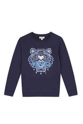Tiger Cotton Sweatshirt