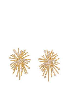 Radiant Star Stud Earrings