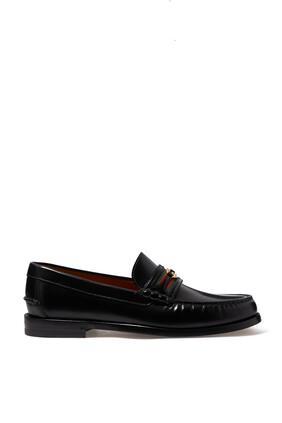 Loafer With Interlocking G