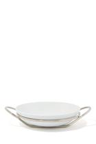 Round Binario Spaghetti Dish