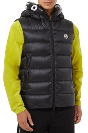 Montreuil Vest Jacket in Longue Saison Nylon
