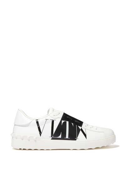 Valentino Garavani Open VLTNSTAR Leather Sneakers