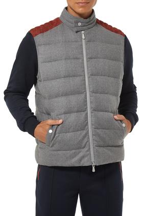 Wool Flannel Gillet