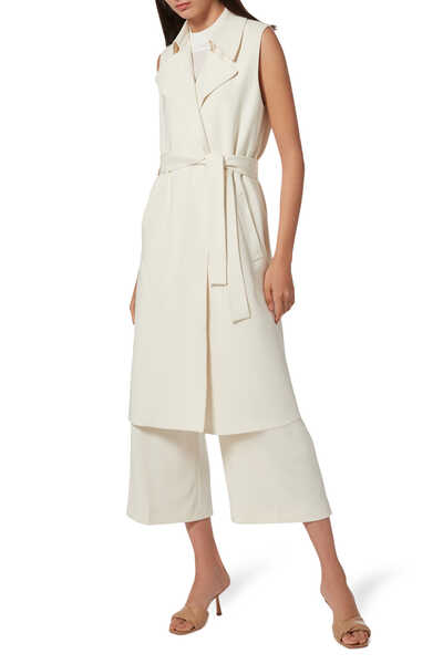 Oaklane Sleeveless Trench Coat