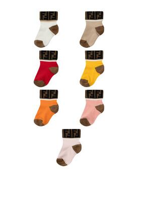 FF Logo Socks, 7 Pairs