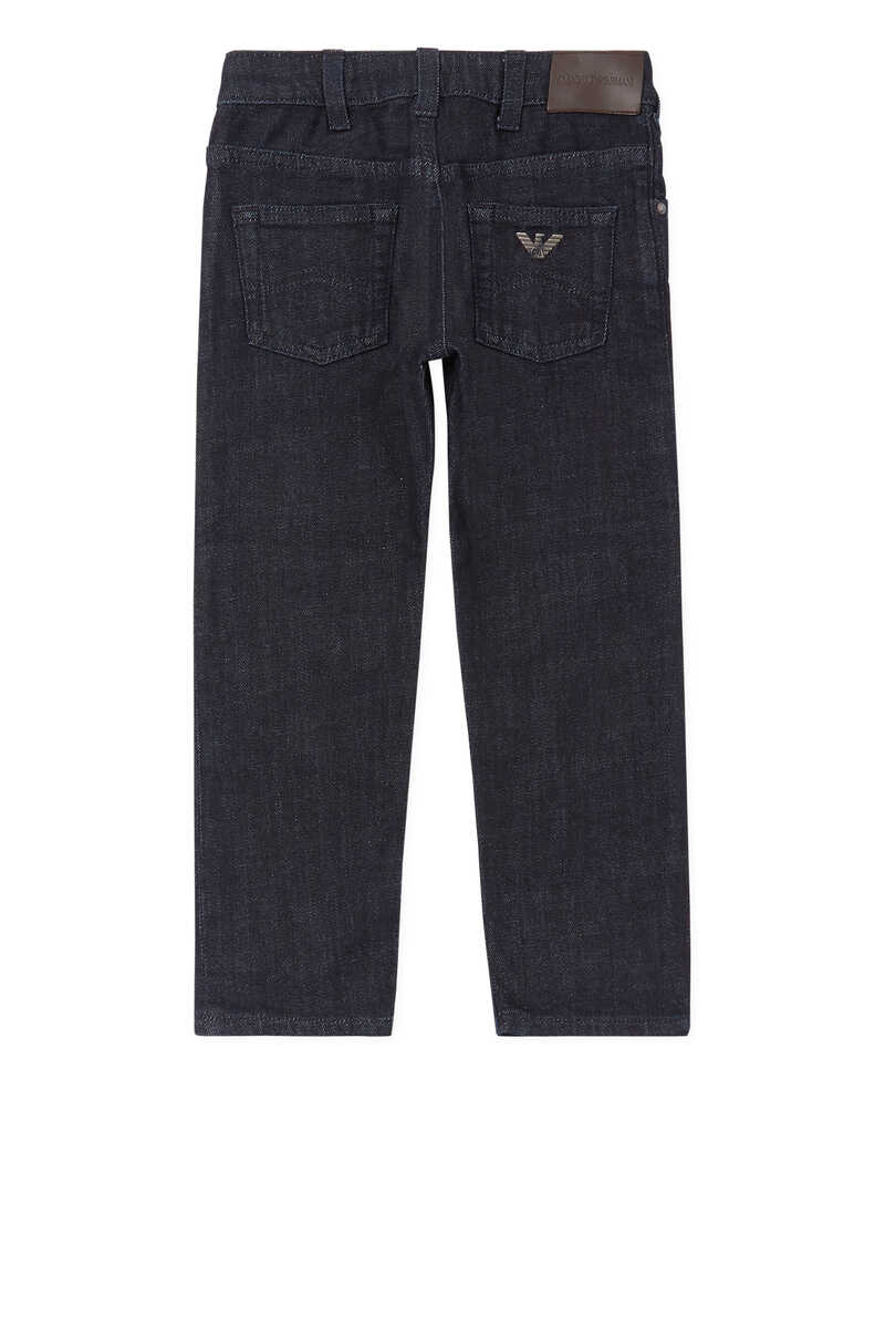 Medium Wash Denim Jeans image number 3