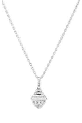 Cleo Mini Diamond Pendant Necklace