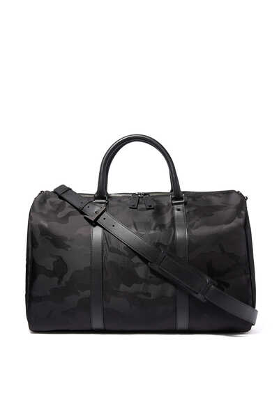 Valentino Garavani Jacquard Camouflage Small Duffle Bag