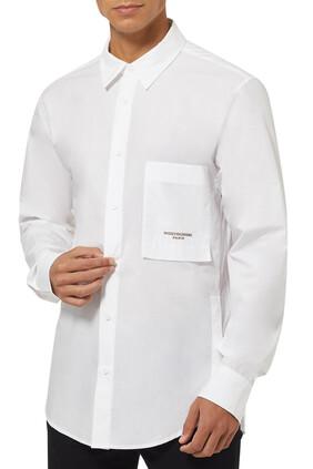 Logo-Embroidered Shirt