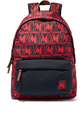 Pierrick Logo Print Backpack
