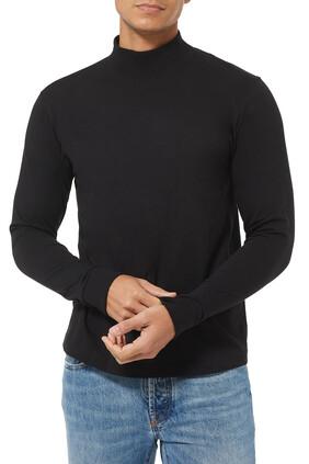 Funnel Neck T-Shirt