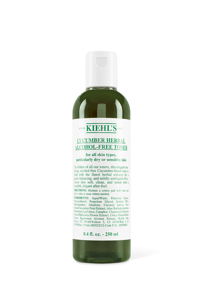 Cucumber Herbal Alcohol-Free Toner image number 1