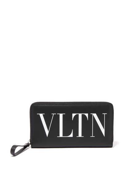 Valentino Garavani VLTN Continental Zip Wallet