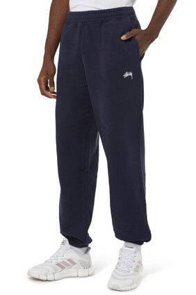 Garment Dyed Cotton Fleece Stock Logo Pant