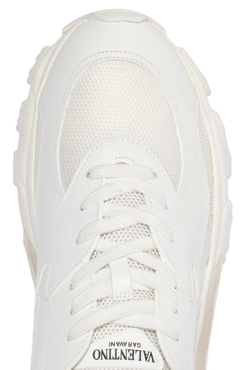 Valentino Garavani Bounce Chunky-Sole Sneakers image number 4