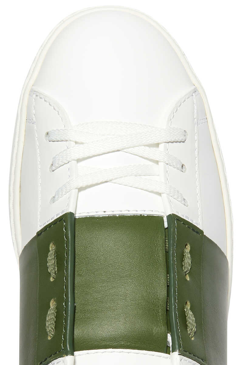 Valentino Garavani Open Leather Sneakers image number 4