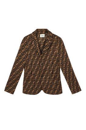 FF Cotton Jacquard Blazer